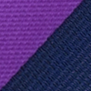 Necktie purple striped