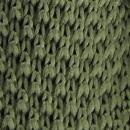 Stropdas gebreid mosgroen