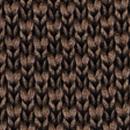 Necktie knitted dark brown