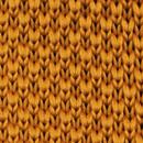Necktie knitted cognac