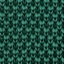 Necktie knitted bottle green