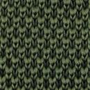 Necktie knitted forest green