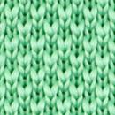 Necktie knitted mint green