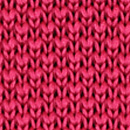 Necktie knitted raspberry