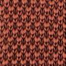 Necktie knitted rust